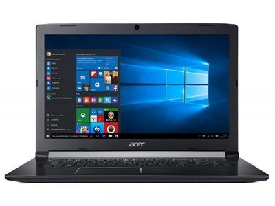 Acer 17.3 F-HD IPS I3-8130U / 8GB / 256GB / DVD / W10