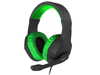 Genesis Argon 200 - Stereo PC Gaming Headset - Groen
