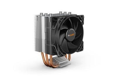 be quiet! PURE ROCK SLIM 2 Processor Koeler 9,2 cm Zilver 1 stuk(s)
