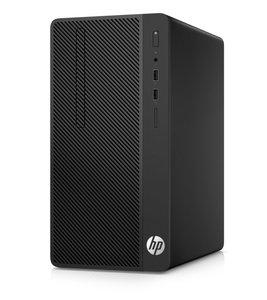 HP 290 G1 Desk / i3-7100 / 8GB / 500GB+240GB SSD / DVD / W10